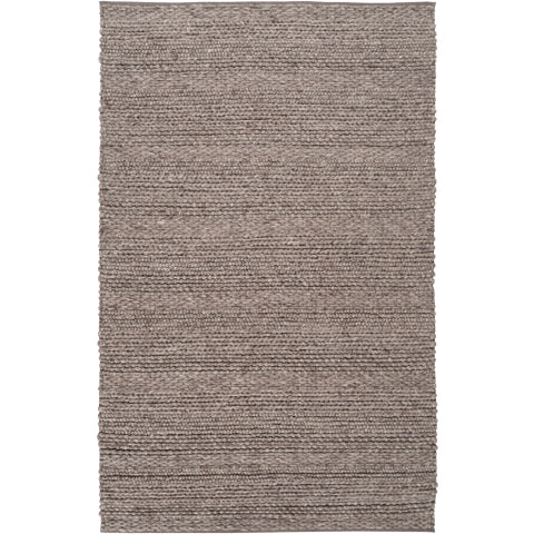 Tahoe Collection Area Rug in Dark Taupe design by Surya