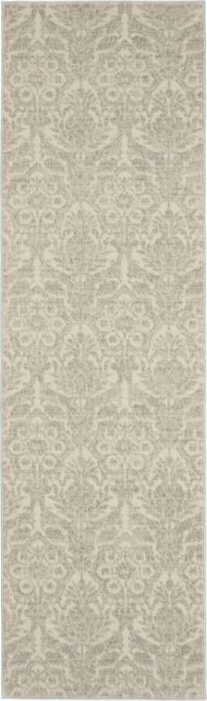 Sahara Rug in Ivory/Silver by Kathy Ireland