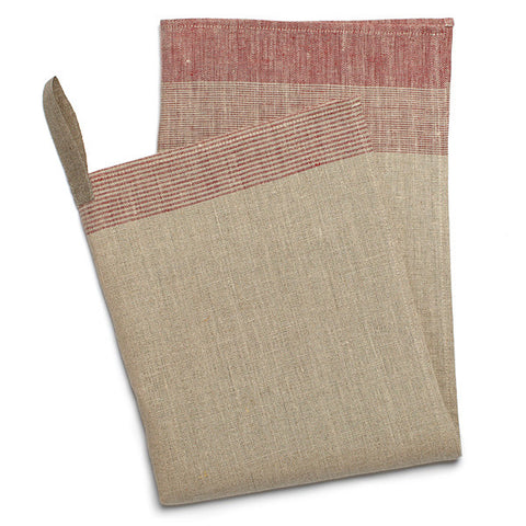 Stuga Kitchen Towel in Pure Red design by Teroforma