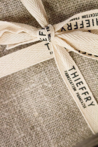 Thieffry Set of Two Dish Towels Raw & Natural
