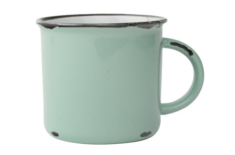 Tinware Mug in Pea Green design by Canvas