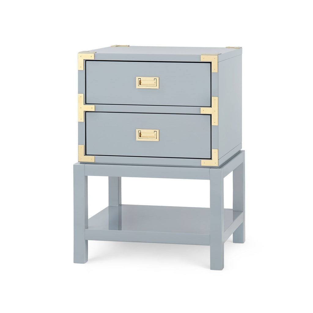 Tansu 2-Drawer Side Table in Various Colors by Bungalow 5