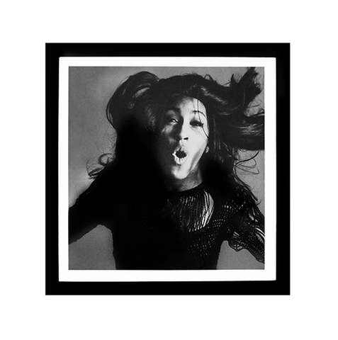 Tina Turner in Black and White Print