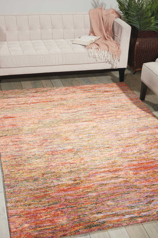 Gemstone Fire Opal Area Rug by Nourison
