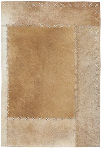 Northwest Rug in Beige by Calvin Klein
