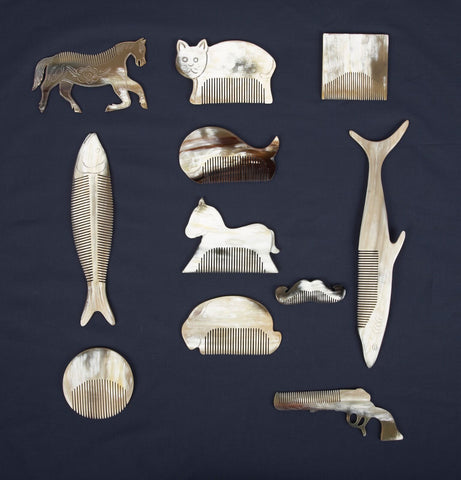Horn Combs in Assorted Styles design by Thomas Paul