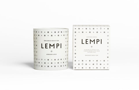 LEMPI Scented Candle design by Skandinavisk