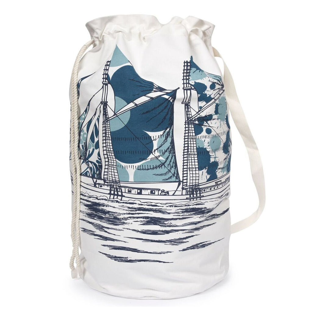 Dazzle Ship Laundry Bag design by Thomas Paul