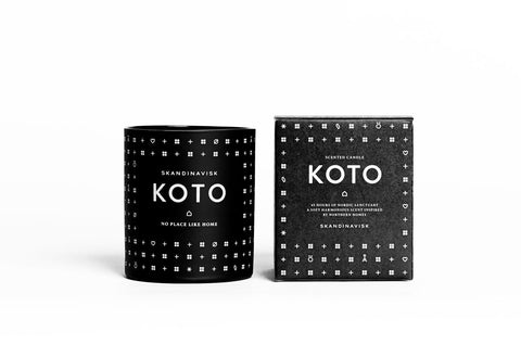 KOTO Scented Candle design by Skandinavisk