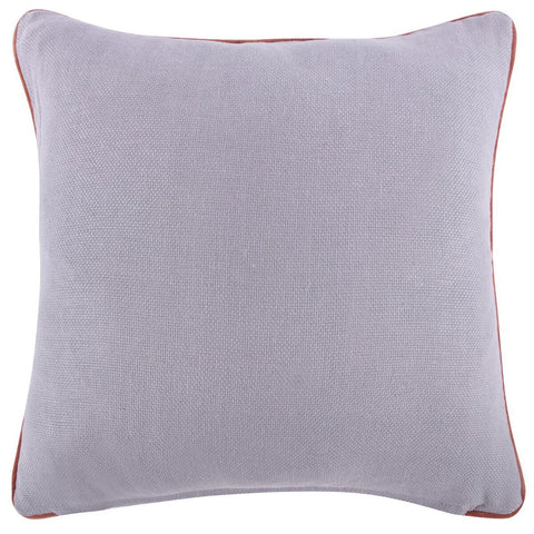"Purple Reversible Solid Pillow 22""x22"""