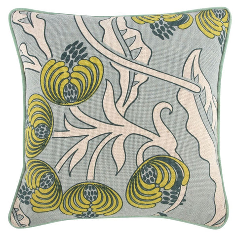 "Bloomsbury/Dots Pillow 18""x18"" design by Thomas Paul"