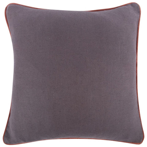 "Purple Reversible Solid Pillow 22""x22"" design by Thomas Paul"