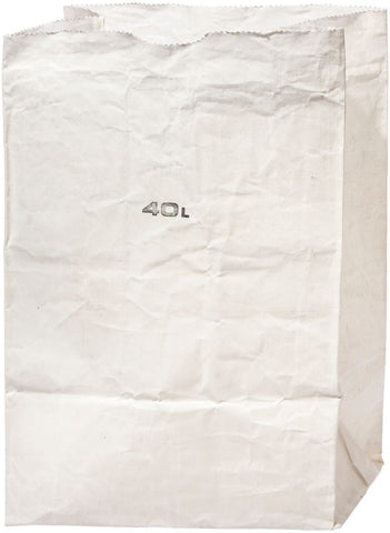 Grocery Bag 40L White