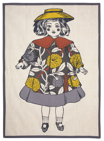 Sally Tea Towel design by Thomas Paul