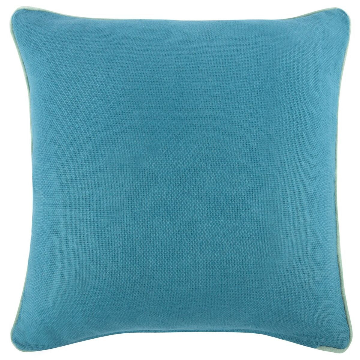 blue reversible solid pillow x design by thomas paul – burke  - blue reversible solid pillow x design by thomas paul