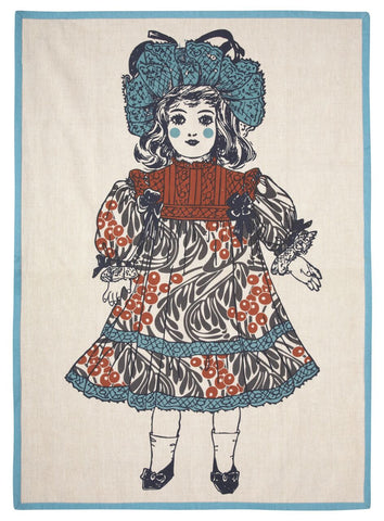 Jenny Tea Towel design by Thomas Paul