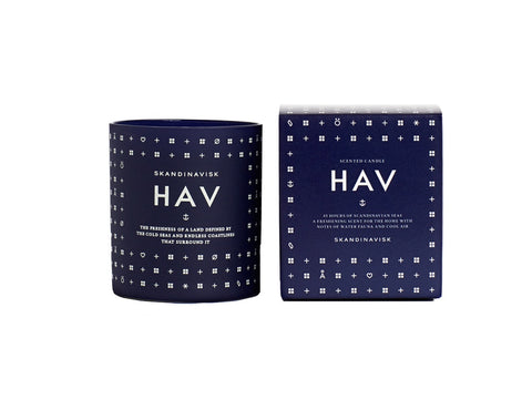 HAV Scented Candle design by Skandinavisk