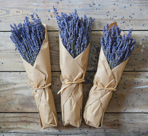French Lavender in Kraft Paper