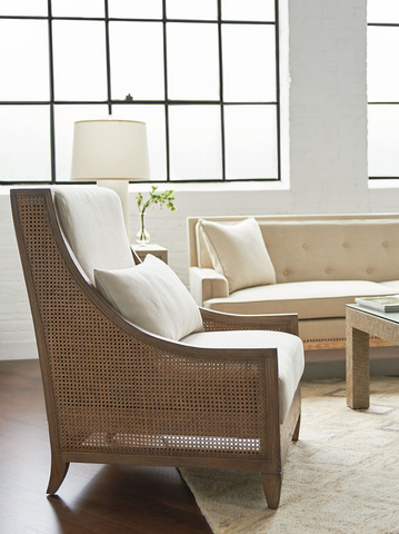 Raleigh Club Chair in Driftwood design by Bungalow 5