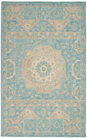 Azura Rug in Ocean by Nourison