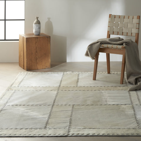 Northwest Rug in Ivory by Calvin Klein