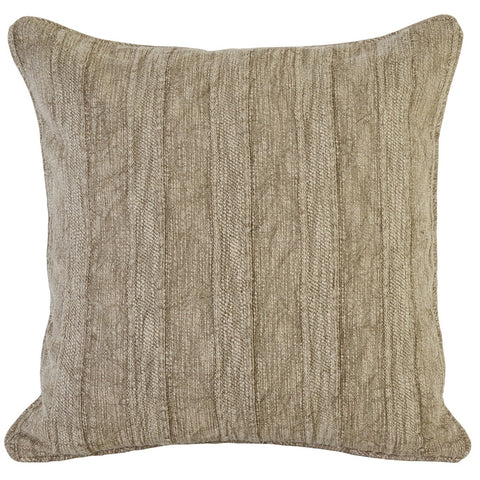 Heirloom Linen Desert 22x22 Pillow design by Villa Home