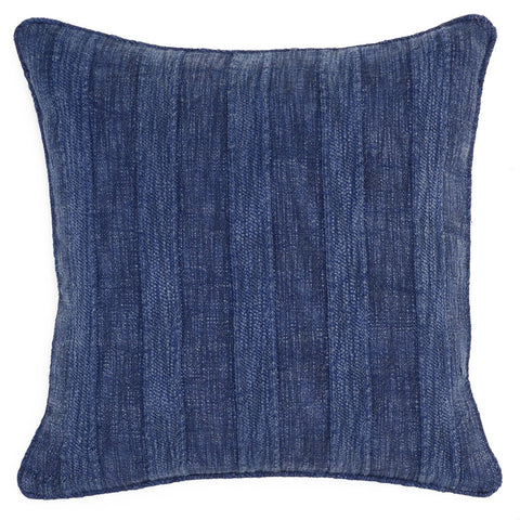 Heirloom Linen Indigo Pillow