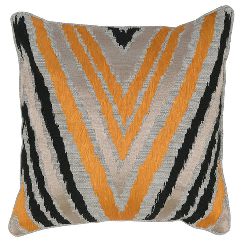 Lenny Multi 18x18 Pillow design by Villa Home