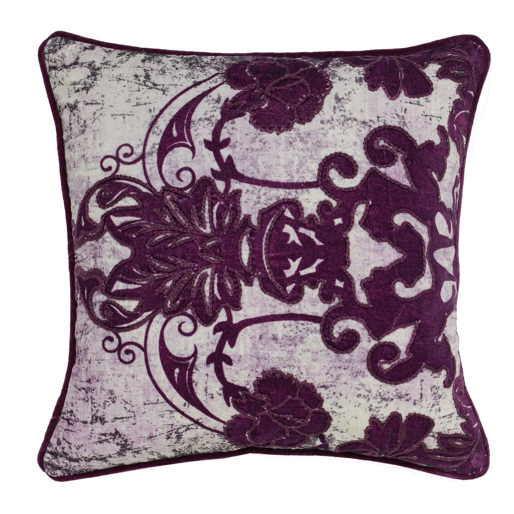 Leila Plum Pillow