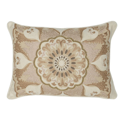 Social Vista Maisie Pillow in Natural Multi design by Classic Home
