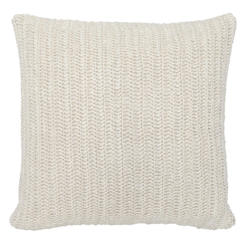 Solid Macie Pillow in Ivory design by Classic Home