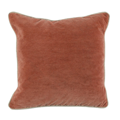 Heirloom Velvet Terra Cotta Pillow
