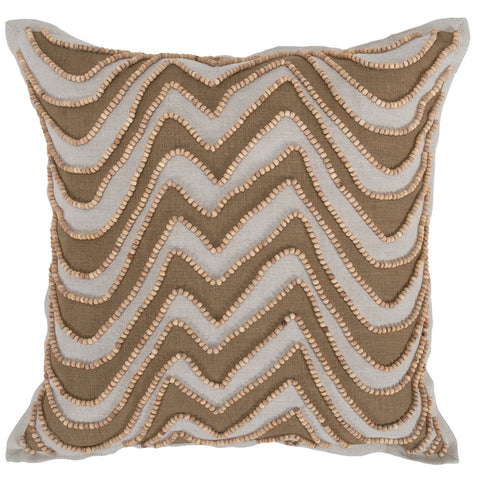 Talia Toffee Pillow