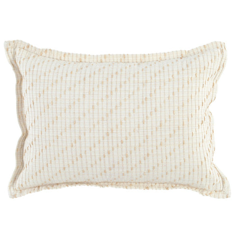Arden Ivory/Natural Pillow