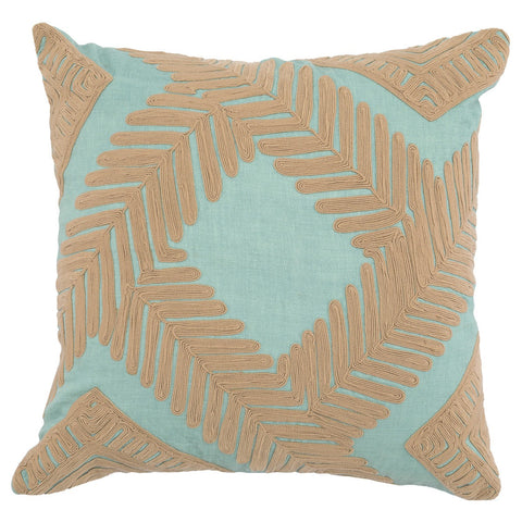 Marly Blue Surf / Natural Pillow