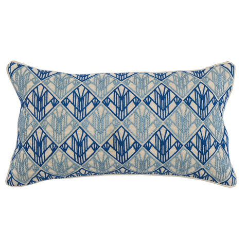 Rocha Royal Blue / Marlin Blue Pillow