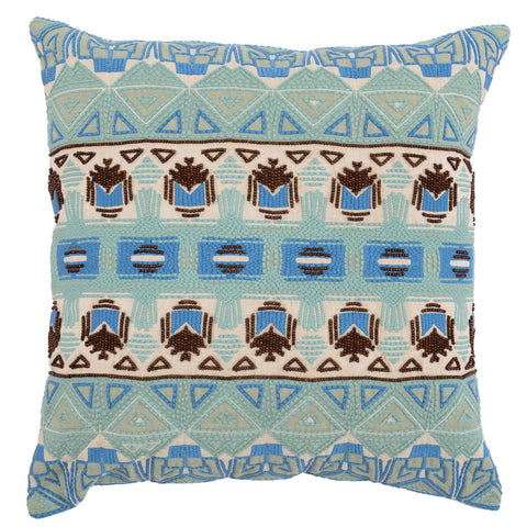 Reece Blue Surf Multi Pillow