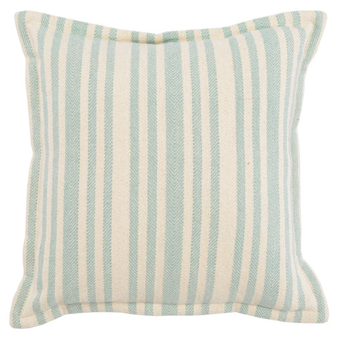 Auden Ivory / Blue Surf Pillow
