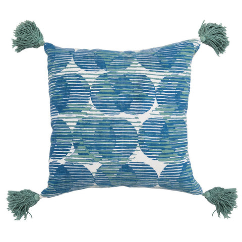 Olympia Artic Blue / Blue Surf Pillow