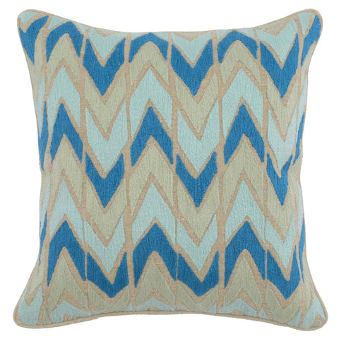 Hayes Blue Surf / Arctic Blue Pillow
