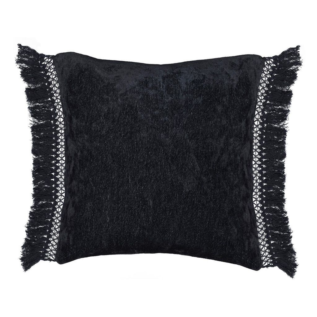 Melia Black Pillow