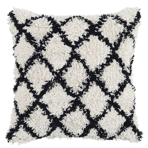 Baraza Black / Ivory Pillow