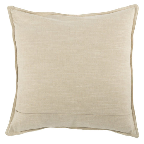 Leather Davis Ivory Pillow