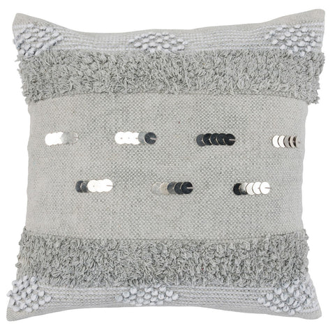 Seine Dusk Gray Pillow