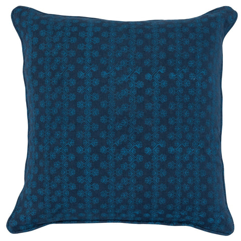 Ophelia Navy Parisian Blue Pillow