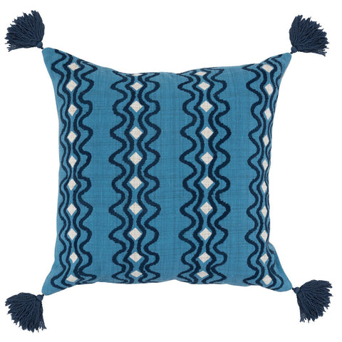 Arya Parisian Blue/Navy Pillow