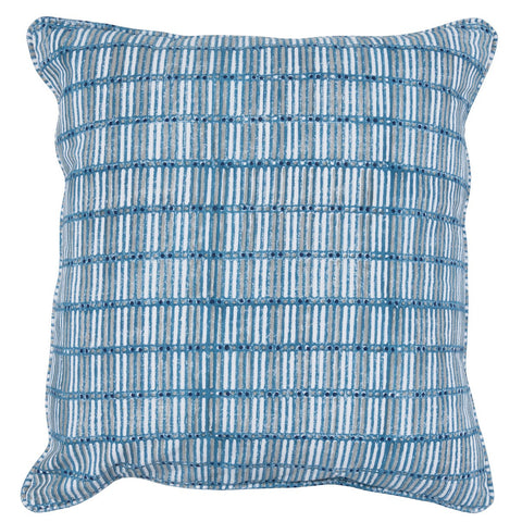 Aubrey Parisian Blue Multi Pillow