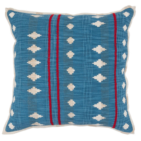 Estella Parisian Blue/Red Pillow