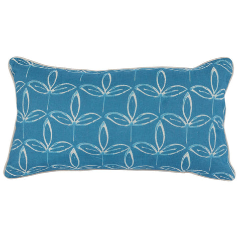 Kenzie Parisian Blue Pillow