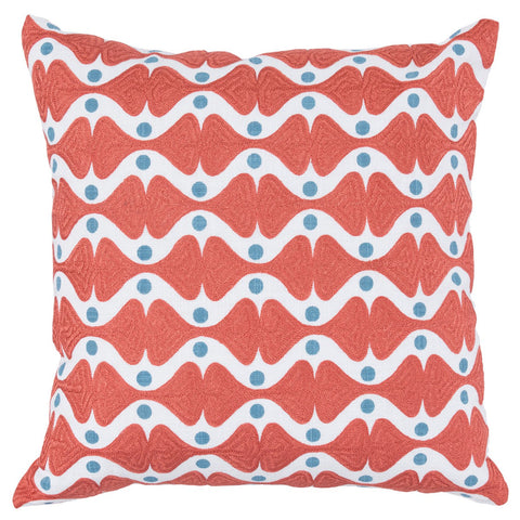Ingrid Persimmon Pillow